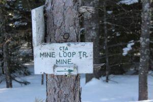 2nd mine sign