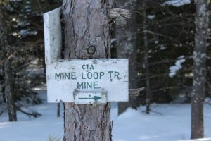 2nd mine sign