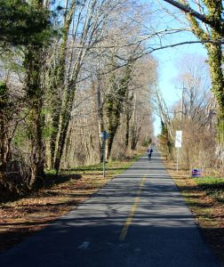 allen, bike path