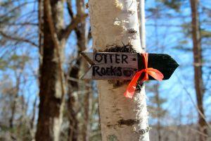 otter rocks sign