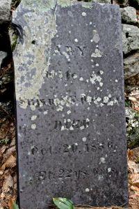 Mary's stone