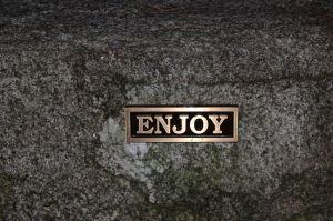 sometimes even the stones speak--enjoy