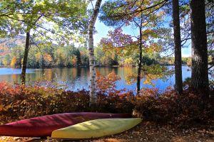 fall at camp