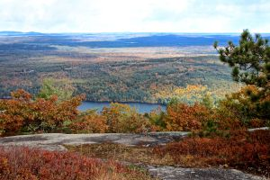 Moose Pond from ridge