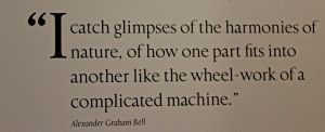 museums, Bell quote