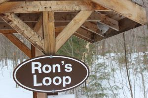 Ron's Loop kiosk, Jan 2015