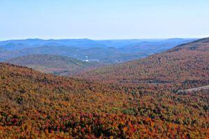 view toward Rumford