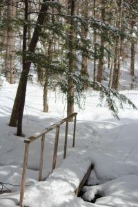 winter, the bridge at Ron's Loop