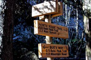 Ski Slope sign