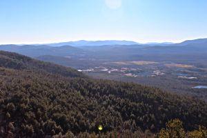 Mount Wash valley