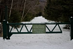Stone House gate
