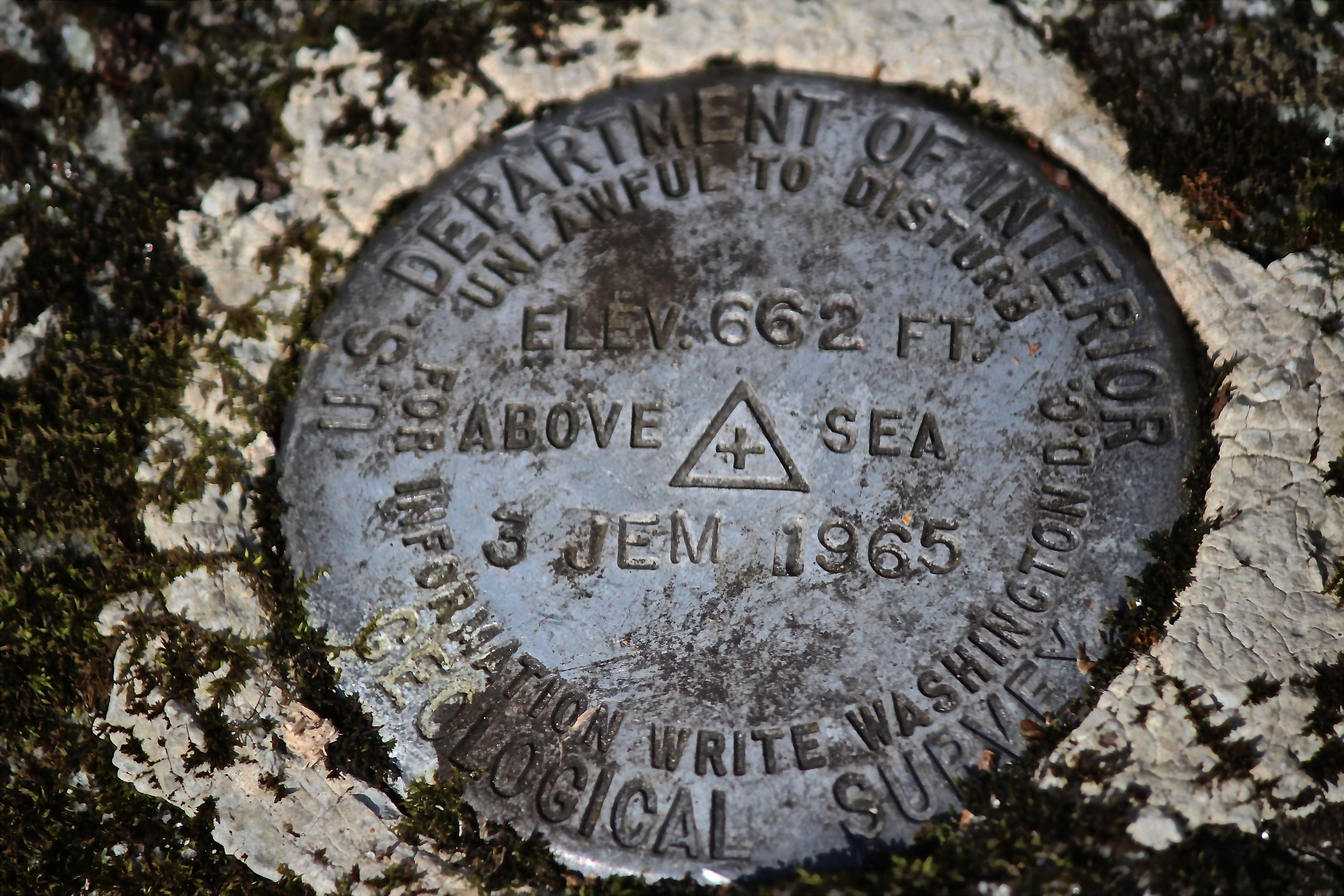h-survey marker