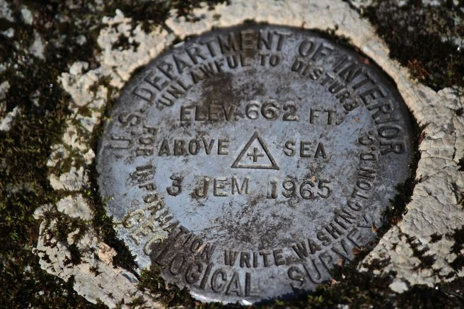 h-survey marker
