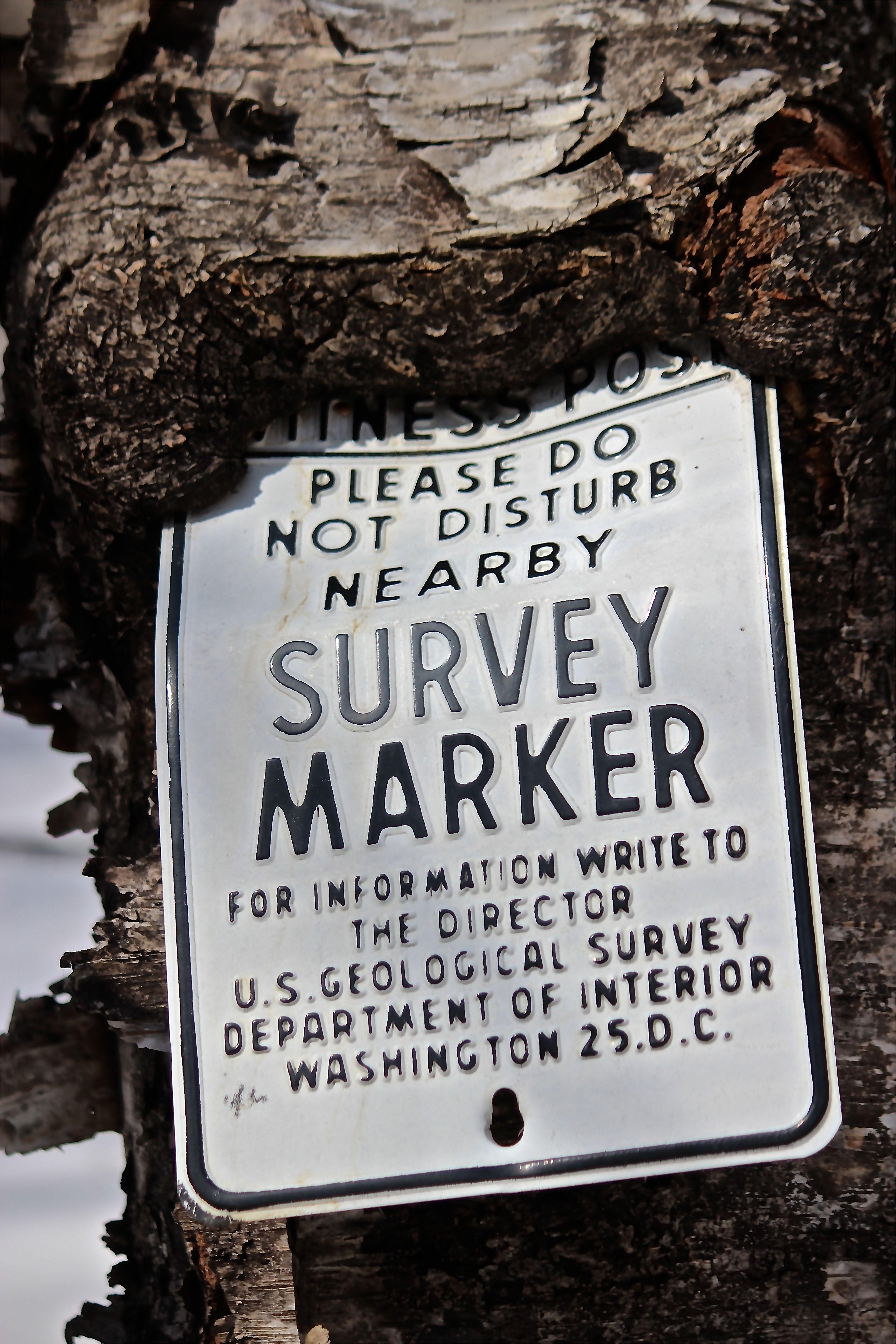 h-survey sign
