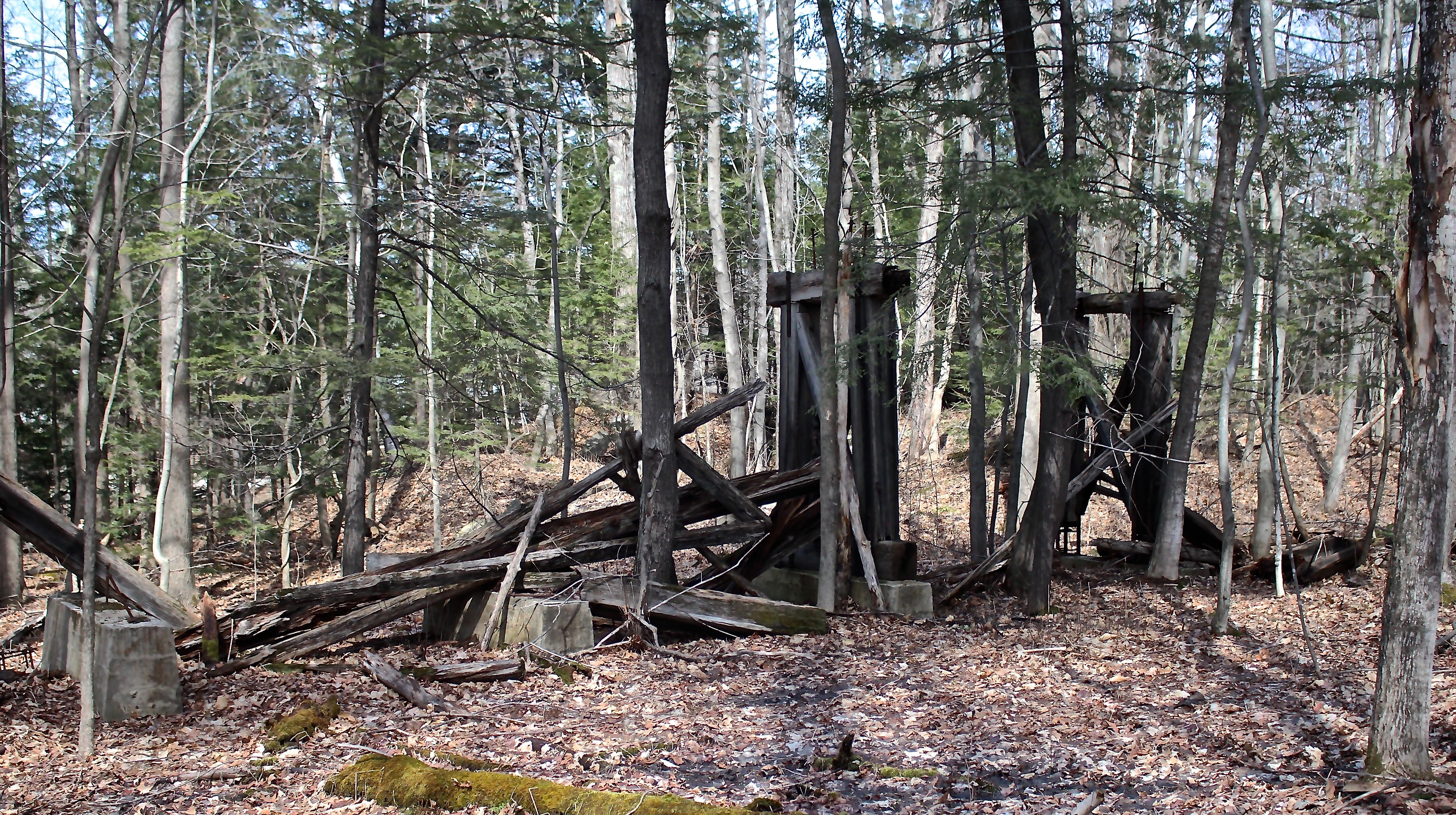 s-coal trestle