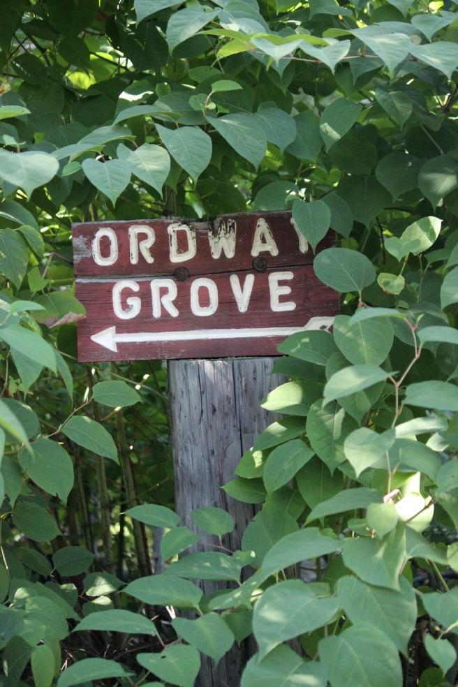 n-ordway sign