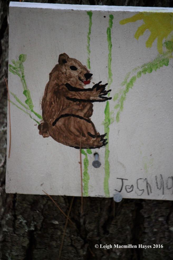 k-bear-sign