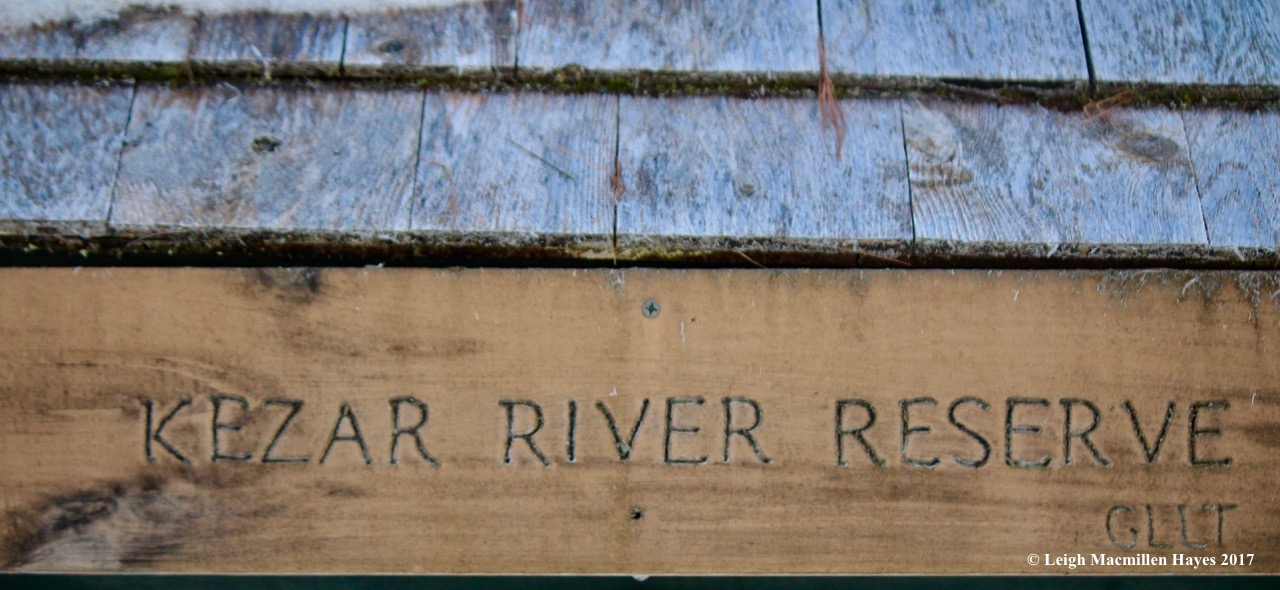 k-Kezar River sign