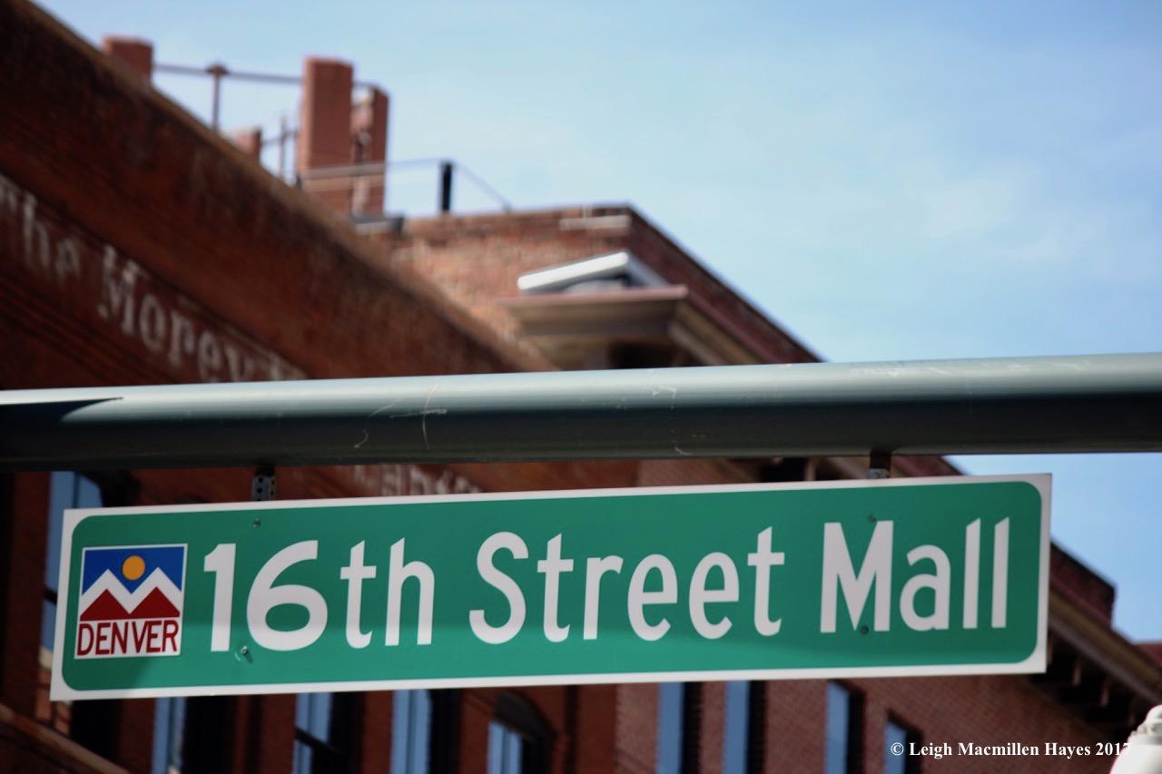 c-16th Street Mall sign