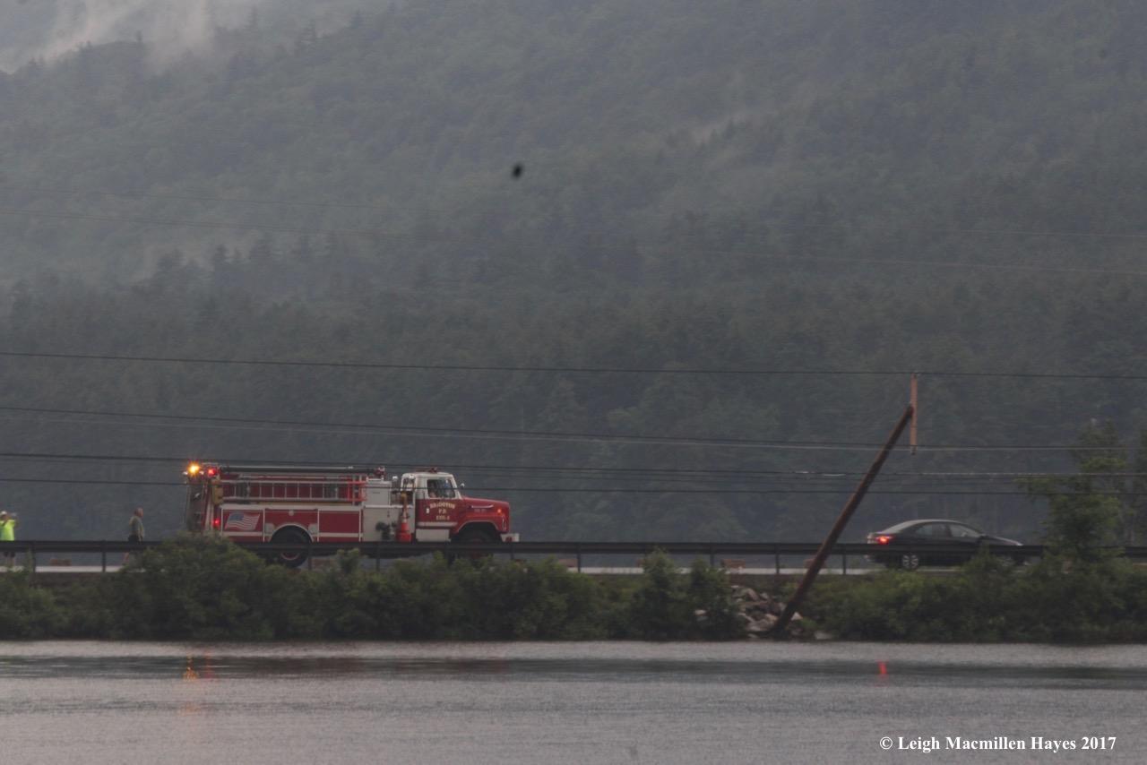d-firetruck on causeway