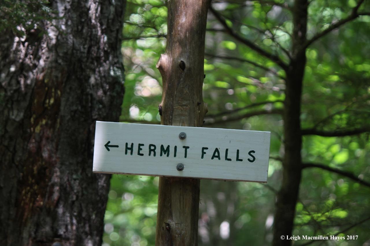 b-hermit fall sign