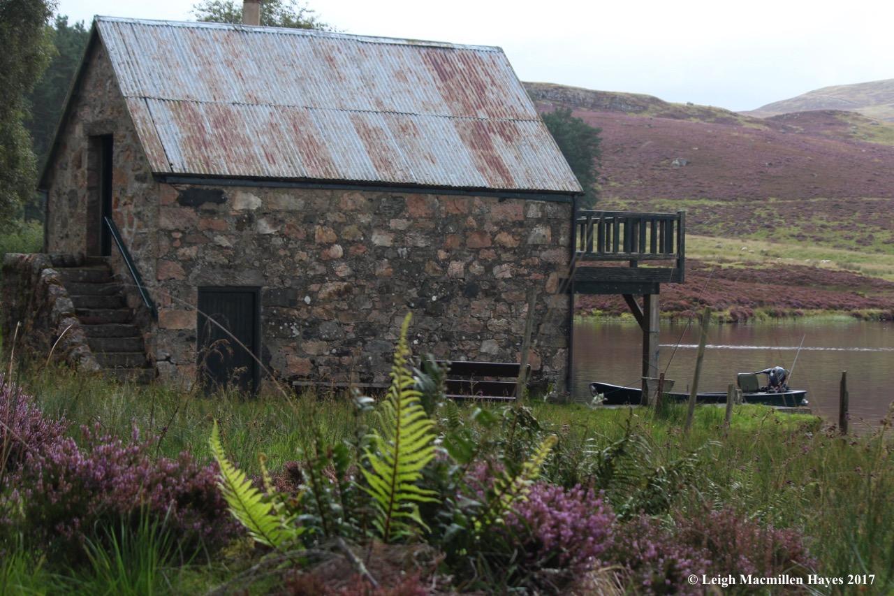 s-boathouse on loch, Sept 5