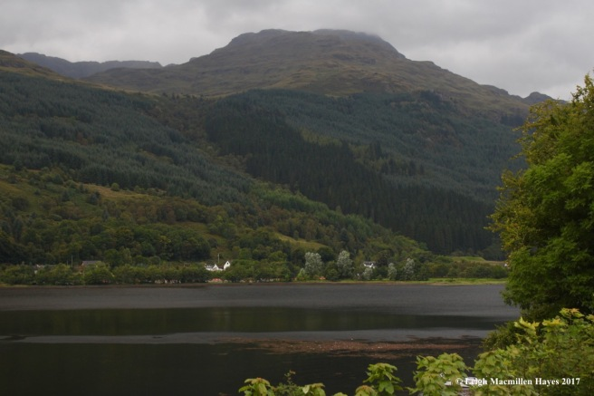 s-view of Loch Long and Mountains by Arrochar
