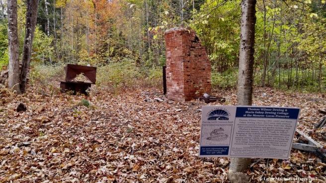 m-site of Dewing cottage 1