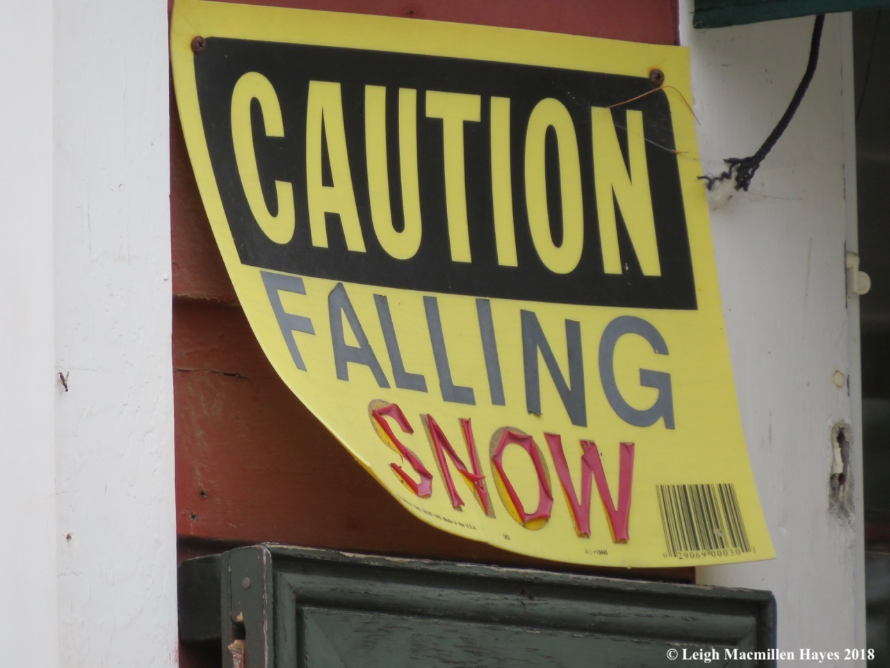 2-falling snow sign