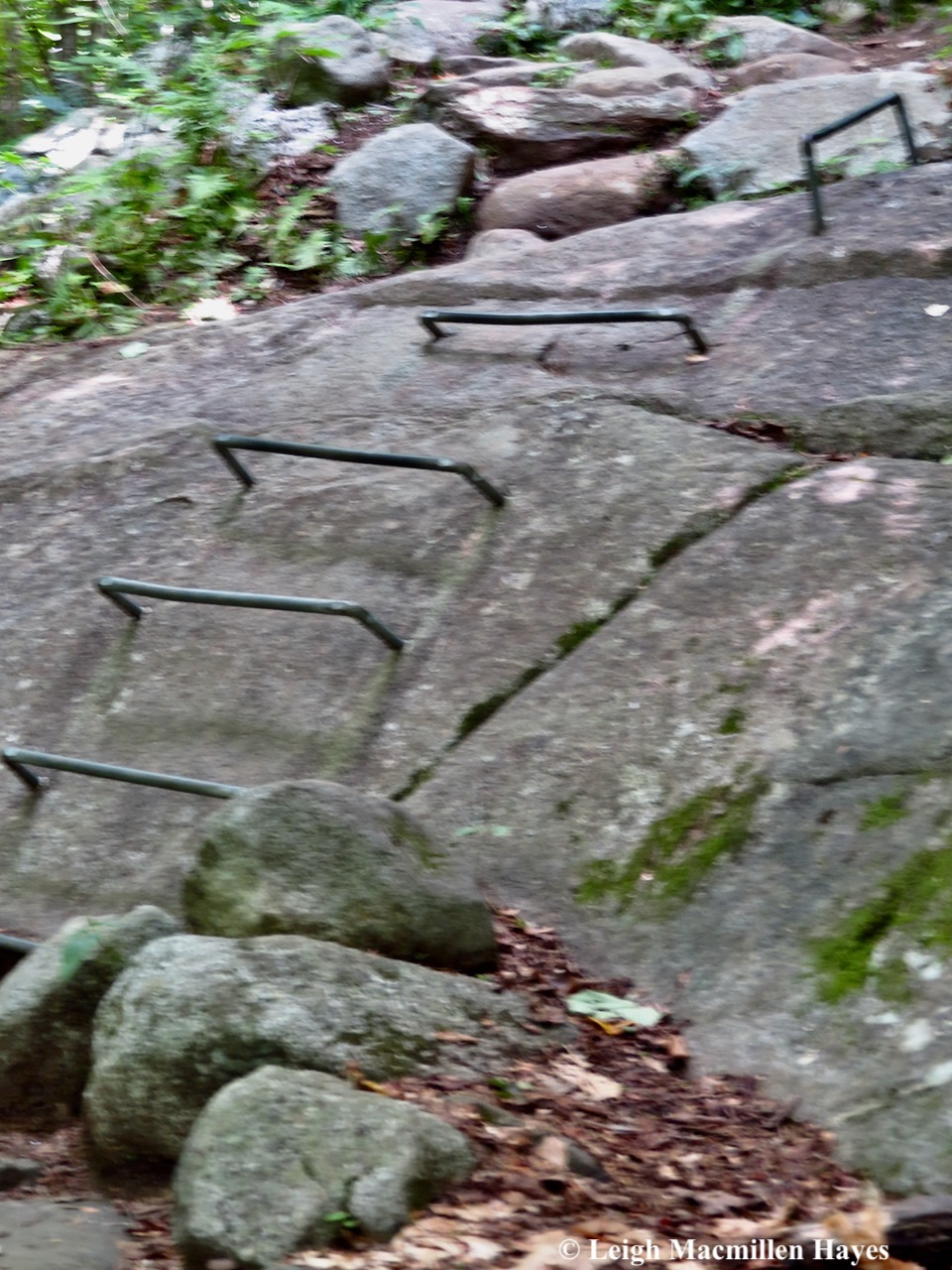 3-rungs on rocks
