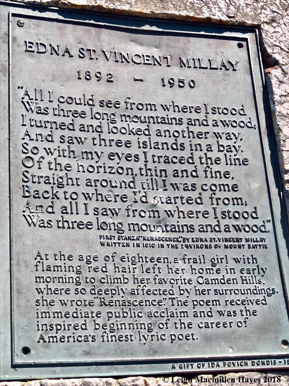 32-Edna St. Vincent Millay