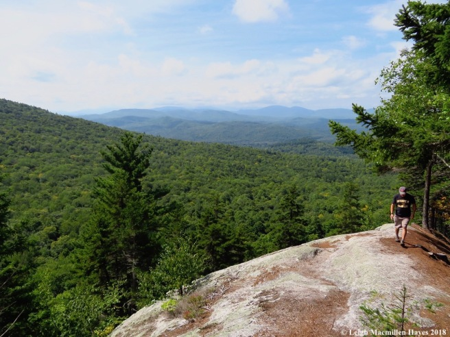 6-Long Mountain Trail Ledges