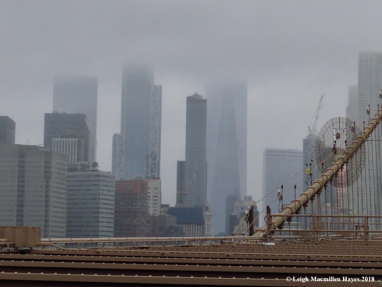 2-Manhattan in the fog