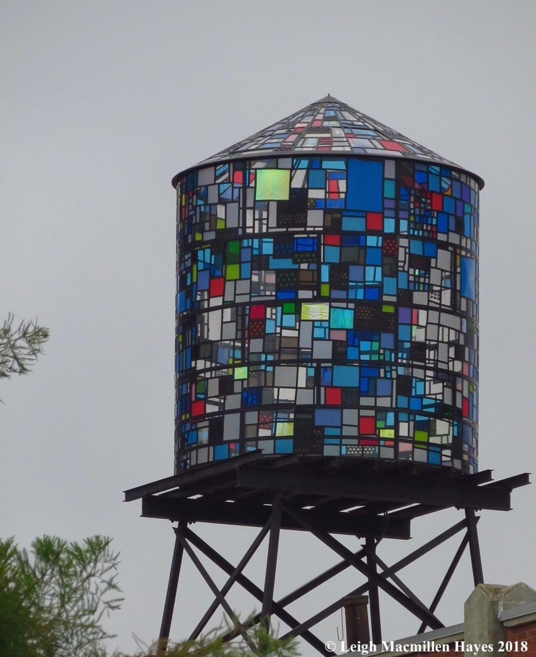 27-water tank in Brooklyn Heights