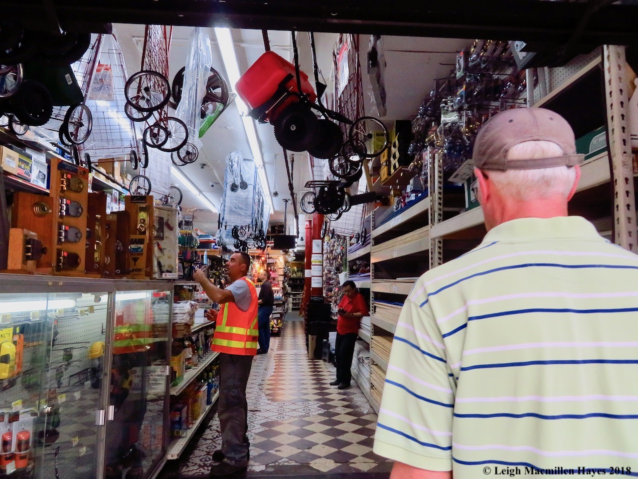 43a-entering the hardware store
