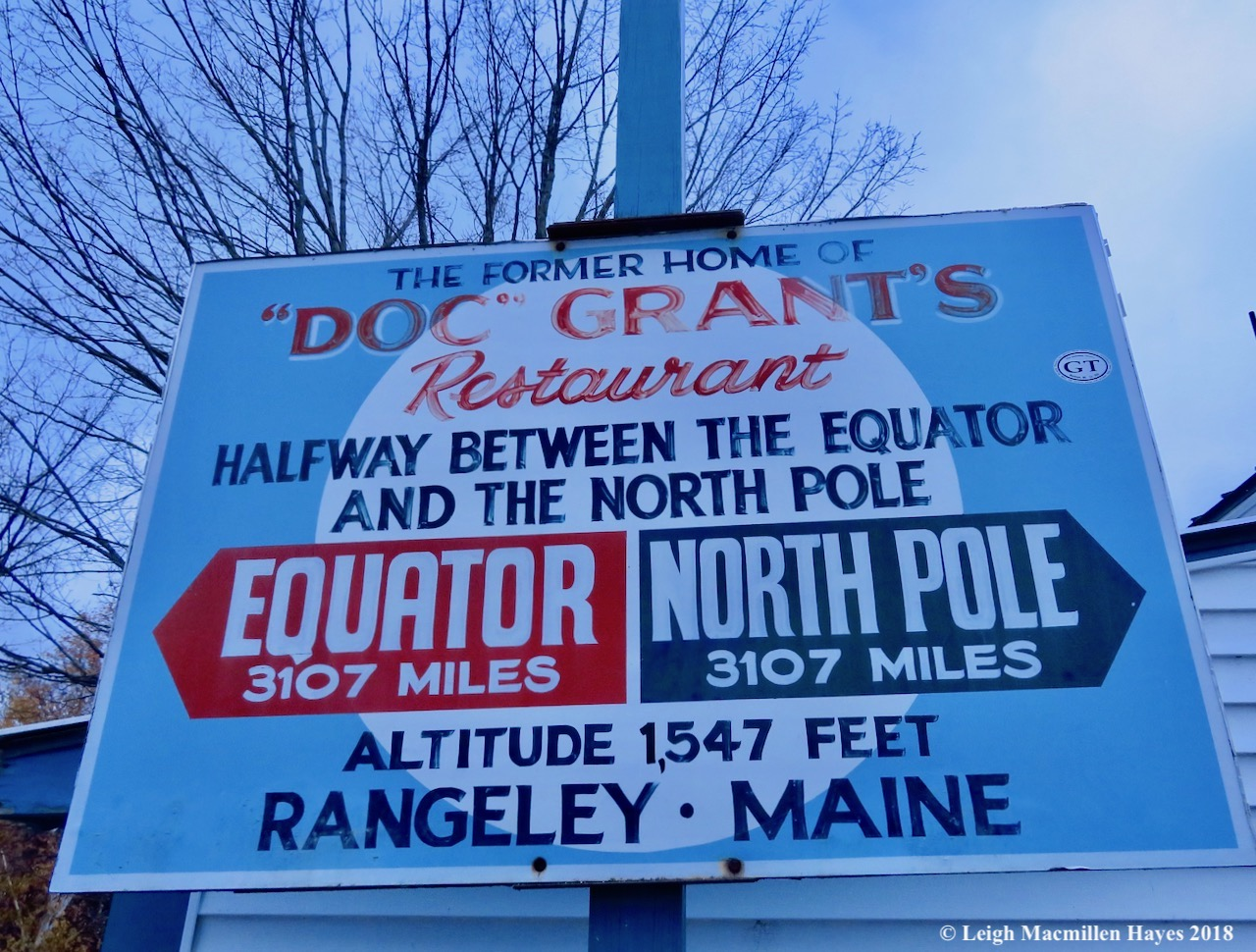 5-halfway between equator and north pole