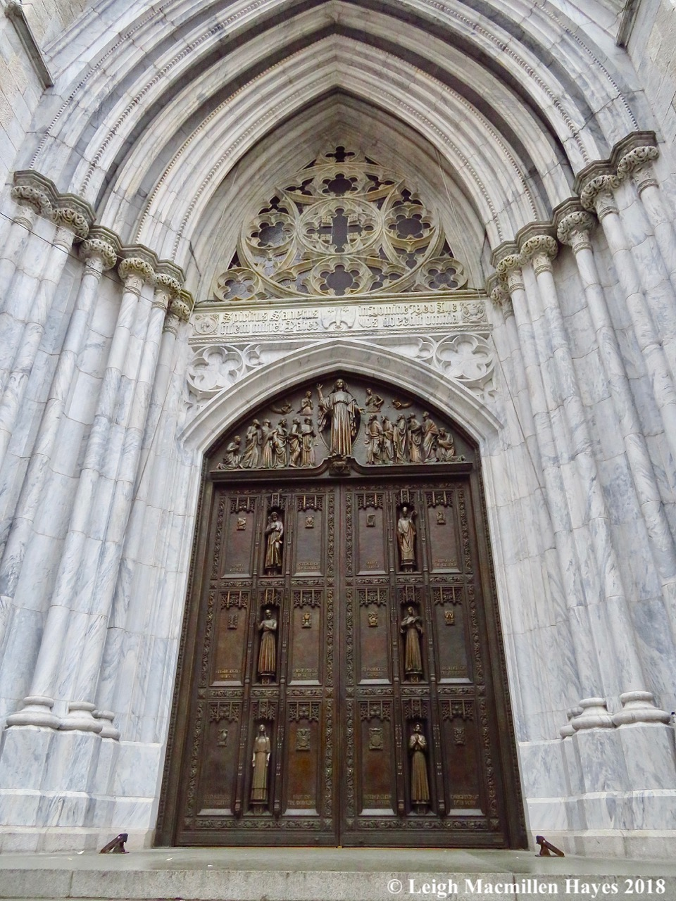 9a-entrance door to St. Patrick's